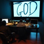 GOD IN THE BOX final sound mix at ANARCHY POST