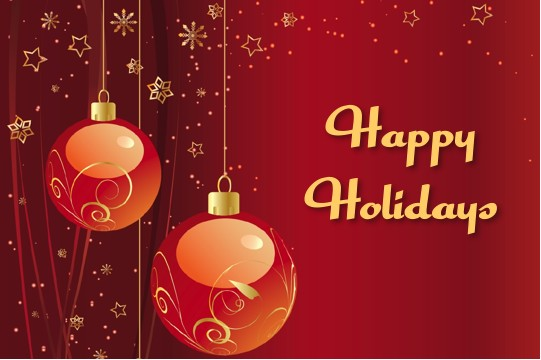 HAPPY HOLIDAYS from your filmmaking family at HOLLYWOOD SHORTS